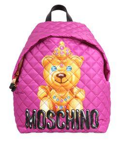 Moschino | Рюкзак Teddy Bear Из Стёганого Нейлона