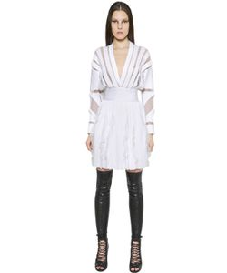 Givenchy | Платье Из Трикотажа И Вышивки