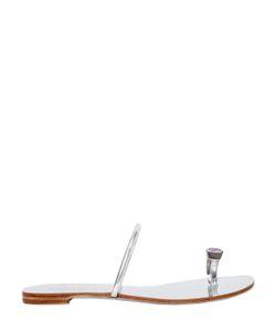 Casadei | Кожаные Босоножки С Кристаллами Swarovski 10mm