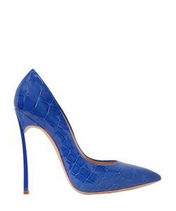 Casadei | Туфли Из Кожи С Крокодиловым Тиснением 120mm