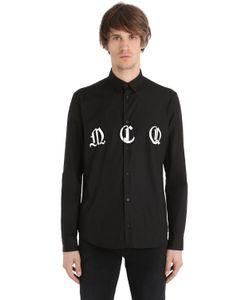 Mcq Alexander Mcqueen | Рубашка Из Поплин С Принтом Mcq