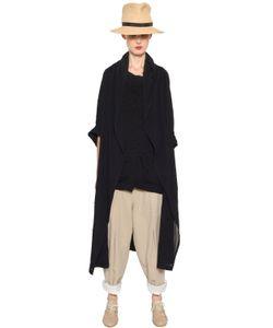 Y'S | Пальто Из Хлопковой Вуали