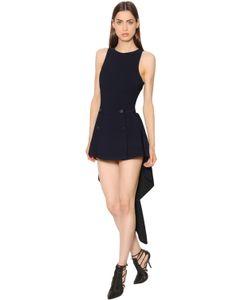 Antonio Berardi | Платье Из Стретч Кади