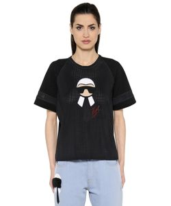 Fendi | Printed Techno Mesh Jersey T-Shirt