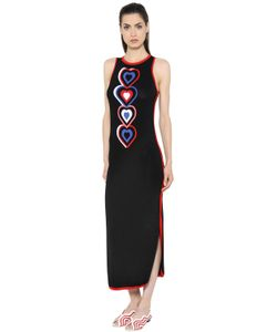 Fendi | Heart Intarsia Sleeveless Knit Dress