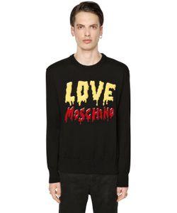 Love Moschino | Хлопковый Свитшот С Логотипом