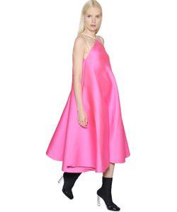 Maison Rabih Kayrouz | Платье Из Шёлкового Атласа И Техноматериала