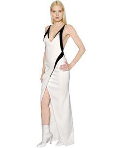 Mugler | Платье Из Стретч Кади