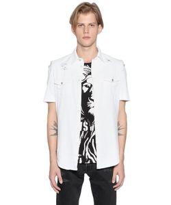 Versus | Рубашка Из Хлопковой Саржи