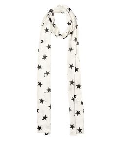 Faith Connexion | Star Printed Silk Satin Scarf