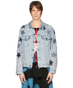 Faith Connexion | Star Patched Denim Jacket