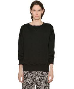 Faith Connexion | Distressed Cotton Sweatshirt