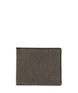 ALLSAINTS | Brushed Canvas Classic Wallet