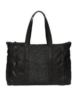 ALLSAINTS | Hoshi Leather Tweed Duffle Bag