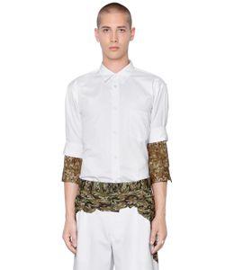 Comme Des Garcons | Рубашка Из Поплин