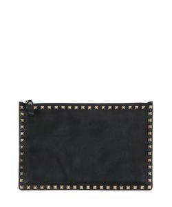 Valentino | Кожаный Клатч Rockstud