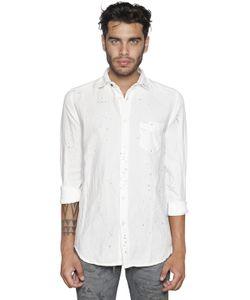 Diesel | Рубашка Из Хлопкового И Льняного Деним