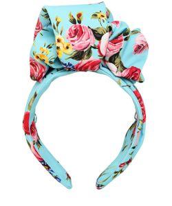 Dolce & Gabbana | Шёлковый Ободок С Цветочным Принтом