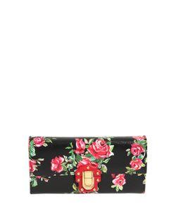 Dolce & Gabbana | Кожаный Клатч Lucia С Принтом