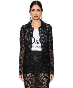 Dolce & Gabbana | Однобортный Кружевной Пиджак