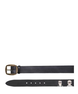 Dolce & Gabbana | Кожаный Ремень 40Мм