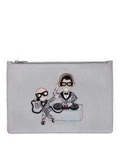 Dolce & Gabbana | Кожаный Клатч Dj Designers