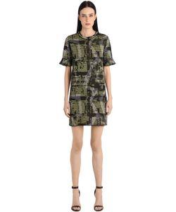 Missoni | Платье Из Вискозы Хлопка И Жаккарда