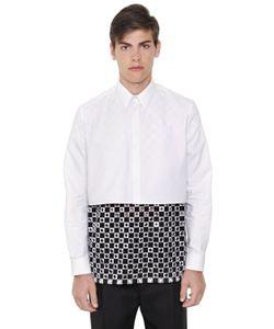 Givenchy | Рубашка Из Хлопка Оксфорд