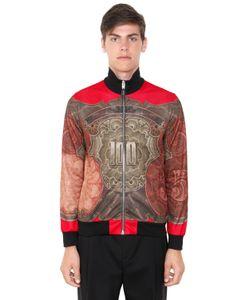 Givenchy   Куртка Из Техноджерси С Принтом Baroque Dollar