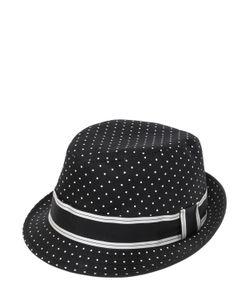 Dolce & Gabbana | Шляпа Из Хлопковой Саржи С Принтом В Горошек
