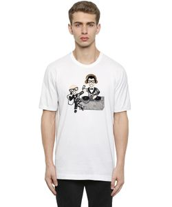Dolce & Gabbana | Футболка Designers Из Хлопкового Джерси