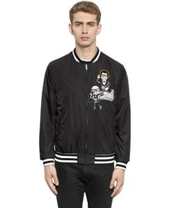 Dolce & Gabbana | Куртка-Бомбер С Нашивкой Дизайнеры