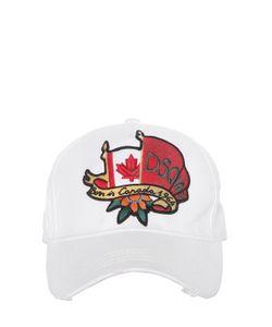 Dsquared2 | Бейсбольная Кепка Canadian Flag Из Канвас