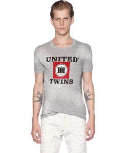 Dsquared2 | Хлопковая Футболка United Twins