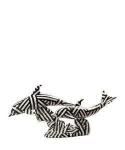 LLADRÒ | Фарфоровая Статуэтка Dazzle Dolphins Dance