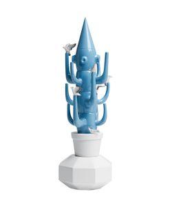 LLADRÒ | Фарфоровая Статуэтка Blue Cactus