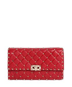 Valentino | Spike Quilted Studded Leather Clutch
