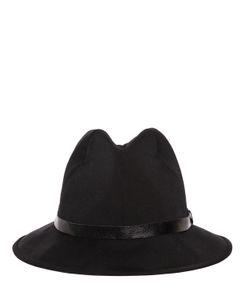 Yohji Yamamoto | Шерстяная Шляпа Fedora