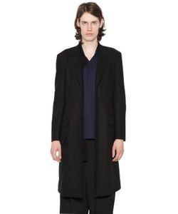 Yohji Yamamoto   Шерстяное Классическое Пальто