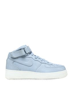 Nike | Af1 Mid Top Leather Sneakers