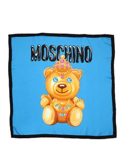 Moschino | Teddy Silk Scarf