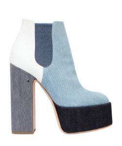 Laurence Dacade | 150mm Laurence Patchwork Denim Boots