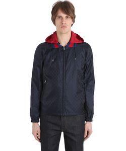 Gucci | Куртка Из Лёгкого Нейлона С Жаккардовым Узором Gg