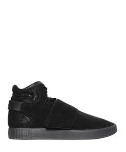 adidas Originals | Замшевые Высокие Кроссовки Tubular Invader