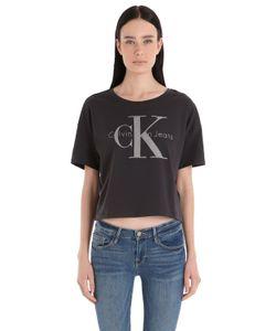 Calvin Klein Jeans | Футболка Из Хлопкового Джерси