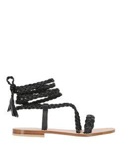 Capri Positano | 10mm Faito Braided Leather Sandals