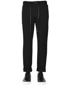 BERNARDO GIUSTI | Viscose Blend Stretch Jersey Pants