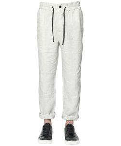 BERNARDO GIUSTI | Linen Canvas Tailored Pants