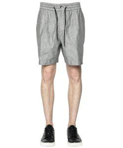 BERNARDO GIUSTI | Linen Silk Shorts
