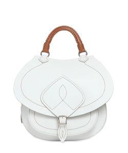 Maison Margiela   Leather Top Handle Bag W Top Stitching